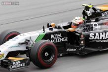 Force India bag four points at Silverstone but lose ground in team standings