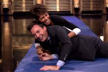 Watch: Halle Berry and Jimmy Fallon show you how they roll. Literally.