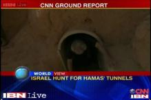 Inside a Hamas tunnel: Watch