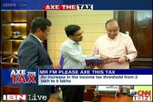 Axe the Tax: Your budget wishlist presented to Arun Jaitley