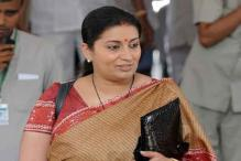 Rare bonhomie: Congress stands by Smriti Irani as TMC MP remarks about her past TV career