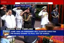 Defence Minister pays homage to Kargil martyrs at Amar Jawan Jyoti