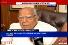Government is entitled to try the new system: Ram Jethmalani