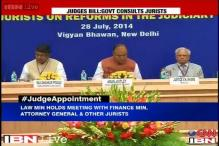 Jurists back Centre, say the system of selection of judges needs to be changed