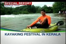 Kayaking festival comes to Kerala backwaters