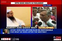 Vaidik is entitled to stay behind in Pakistan and do whatever he wants, says Aiyar