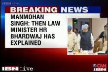 Manmohan denies Katju's charges, says HR Bhardwaj explained everything