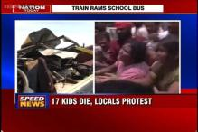 Medak: Protests break out at accident site where 17 children were killed
