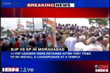 Temple politics heat up in Moradabad, Congress leaders detained