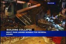 Mumbai: Building slab collapses after heavy rain, 2 dead
