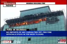 Massive fire in commercial building in Mumbai, one fireman dead, 6 seriously injured