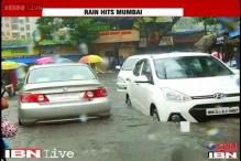 Heavy rainfall throws Mumbai out of gear, local trains running late