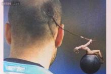 Photo: Argentina's Rodrigo Palacio has a terrible rattail haircut but there are hilarious things you could do with it!