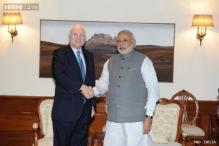 US Senator John McCain meets PM Modi, discusses terror