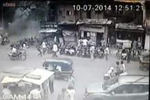 Pune blast: CCTV footage obtained from parking lot where explosives were kept