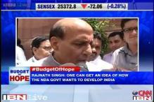 Rajnath Singh hails Budget, calls it most realistic