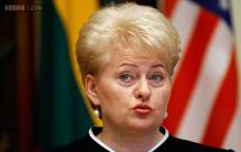 Incumbent Lithuanian president takes oath for second term