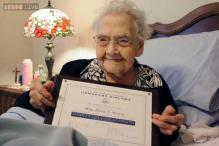 Eight decades later, 100-year-old woman in Rhode Island finally gets her high school diploma!