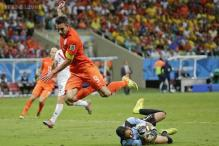 World Cup 2014: Van Persie's misses nearly cost Netherlands