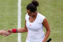 Wimbledon: Sania in pre-quarters of mixed doubles, Bopanna bows out