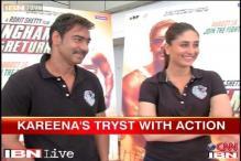 Ajay Devgn returns as super cop in Singham 2, Kareena joins the action