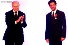 Photos: Shah Rukh Khan receives 'Knight of the Legion of Honour'; Madhur Bhandarkar, Adi Godrej attend the grand event