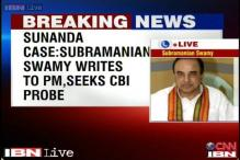 Subramanian Swamy seeks CBI investigation into Sunanda Pushkar's death