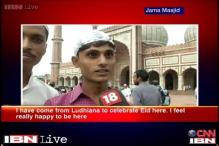 Eid celebrations in Jama Masjid, New Delhi