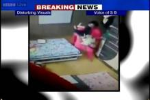 CCTV footage shows 3-year-old child brutally thrashed by his tutor in Kolkata