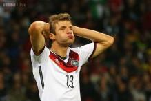 World Cup 2014: Mueller admits botched free kick was trick that failed