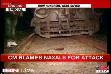 Bihar: Blast derails train's pilot engine, CM suspects Naxal hand