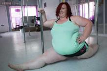 Watch: The world's heaviest pole dancer weighs 252 pounds and says she has never felt 'sexier' since taking up pole dancing