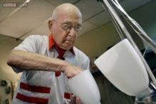Just another day at work: Man celebrates his 101st birthday in office, a job he hasn't quit in 73 years!