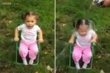 Watch: Talk about surprises! Two-year-old takes the Ice Bucket Challenge and reacts very strongly to it
