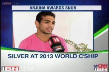 Wrestler Amit Kumar upset over Arjuna Award snub