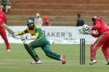 Hashim Amla rested for third ODI against Zimbabwe