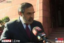 Anand Sharma declares Congress support for Judicial Appointments Bill in Rajya Sabha