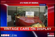 Watch: Vintage car rally as Chennai celebrates its 375th birthday