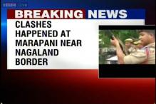People oppose Tarun Gogoi's visit to Assam-Nagaland Border, clash with police