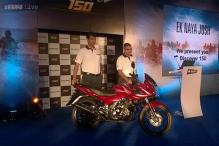 Bajaj Discover 150F launched in India at Rs 58,739