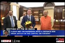 British government planning on an enormous investment in India, says UK Deputy PM Nick Clegg