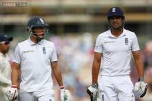 Alastair Cook helped Ballance to get his focus back
