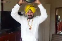Watch: Daler Mehndi takes the Ice Bucket Challenge! The singer has nominated Amitabh Bachchan and Shah Rukh Khan to take the challenge next
