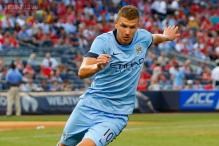 Edin Dzeko signs new four-year deal at Manchester City