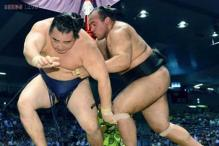 Egyptian sumo wrestler storms his way into ancient sport