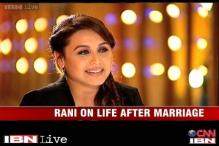 e Lounge: Rani Mukherjee on her marriage with Aditya Chopra