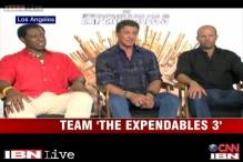 e Lounge: Team  'The Expendables 3' shares behind the scenes experience