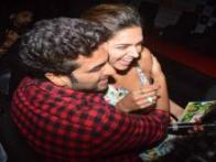 Arjun Kapoor, Deepika Padukone pout, dance and pose at the 'Finding Fanny' song launch