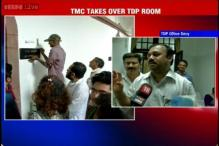 MPs fight over room in Parliament, TMC forcibly takes possession of office after TDP refuses to vacate