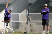 Fletcher, Dawes oversee India's net session before ODI series